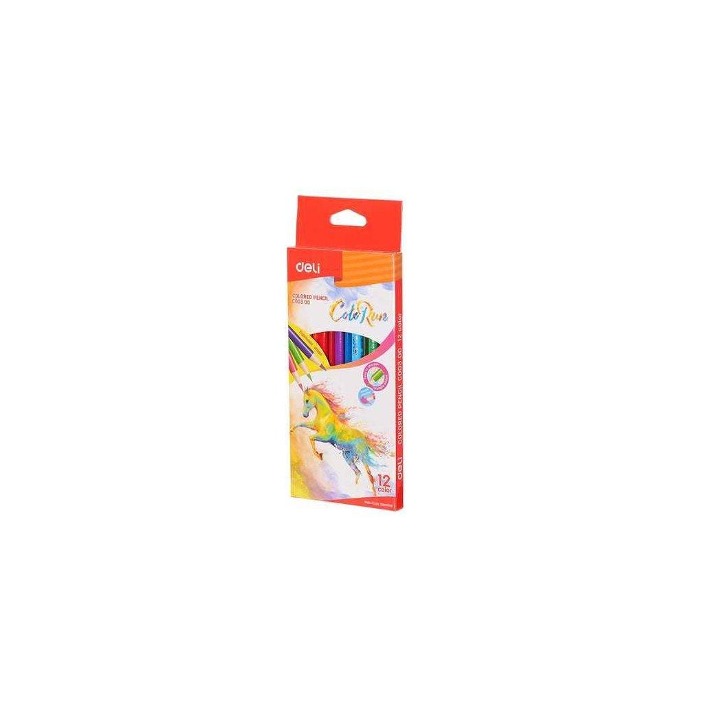 Pastelky trojhranné coloRun 12ks EC00300