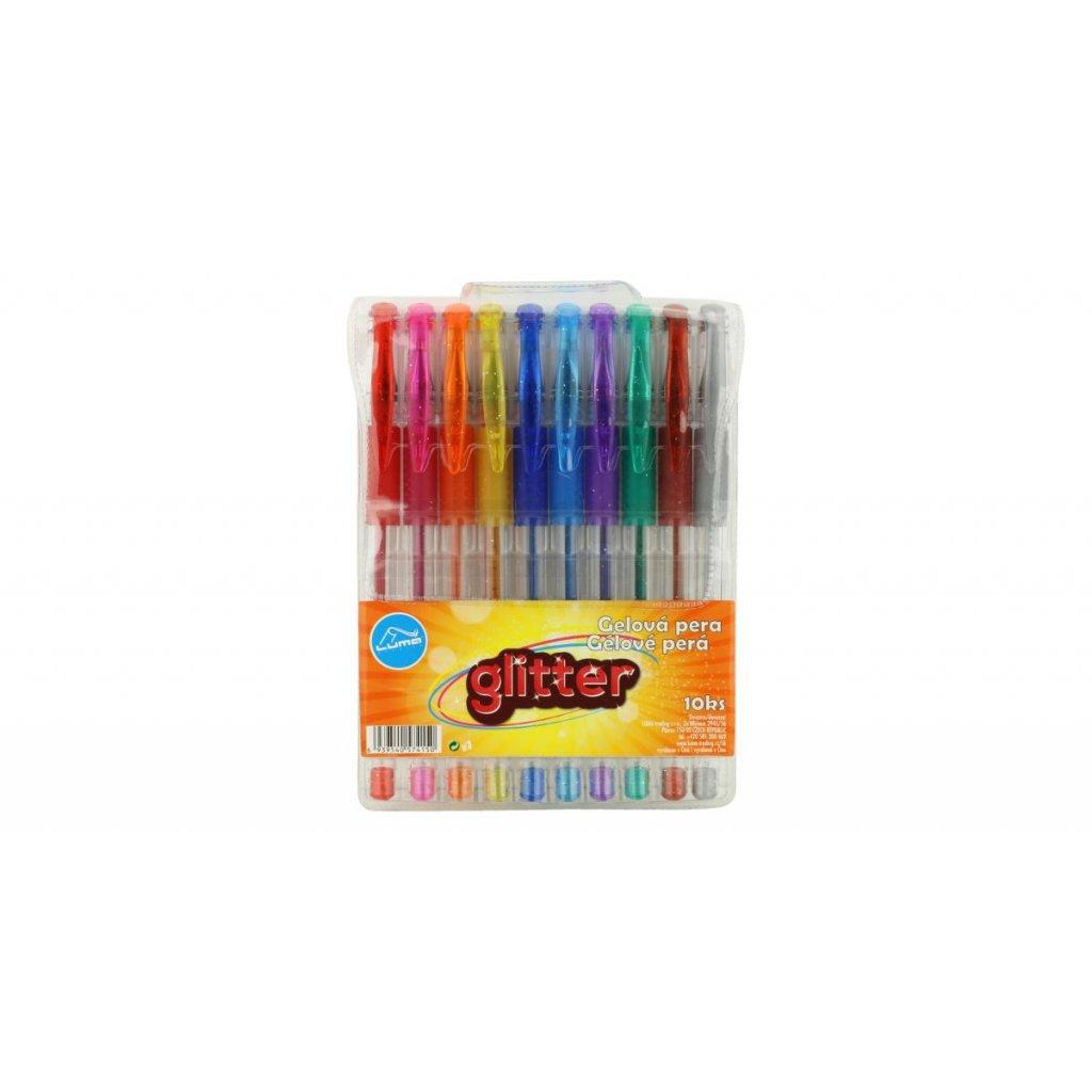 gelove pero sada 10 barev pastel mix barev