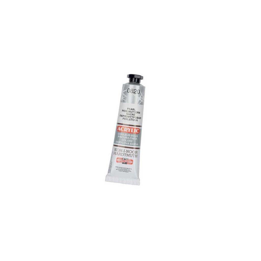 Akrylová barva perleťová, 40ml
