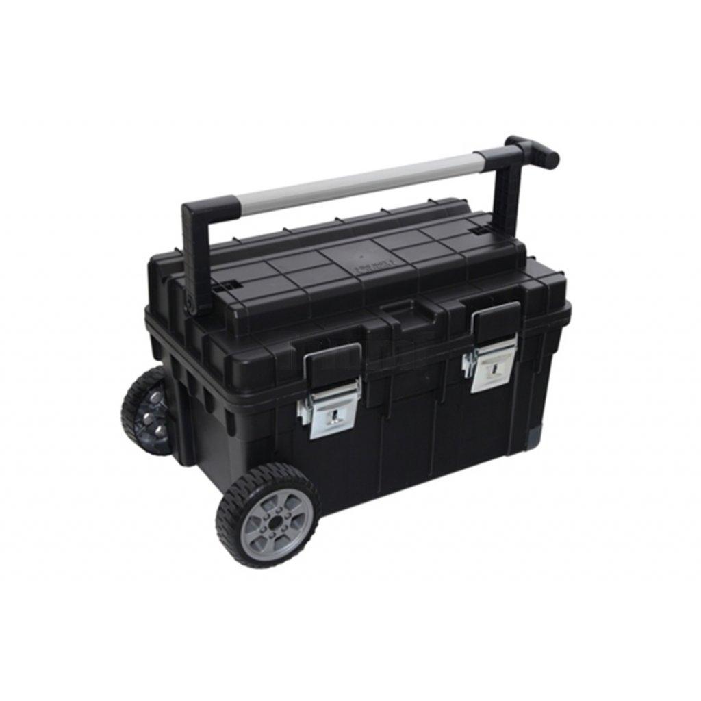 kufr na nařadí Triumf MAX One, na kolečkách, profi, 595x345x355 mm, černý