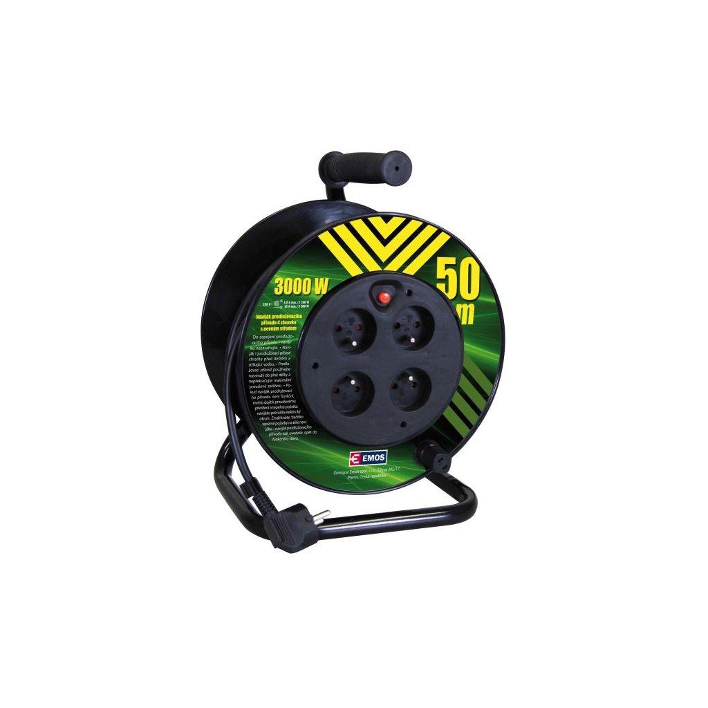 pvc kabel na bubnu s pevnym stredem 4 z 50m 1 5mm2 1908045010