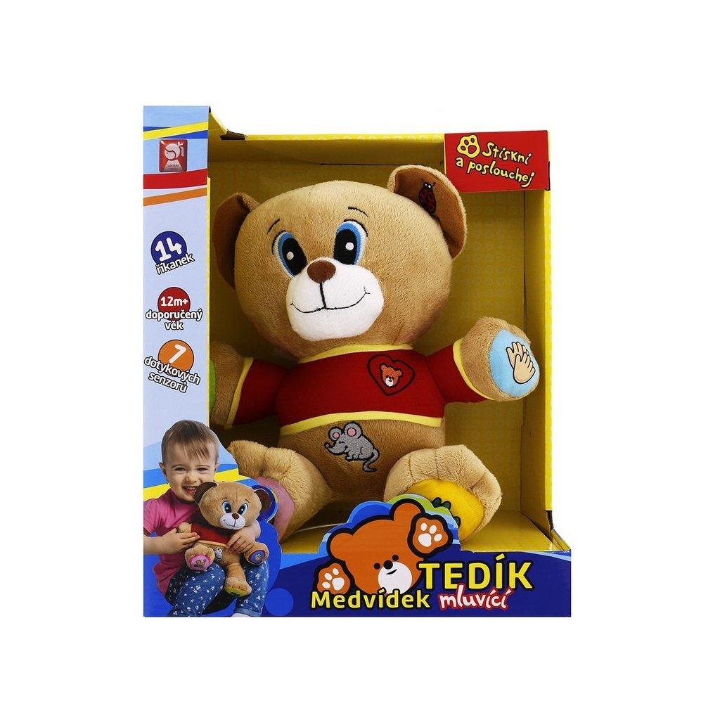 Medvěd Tedík mluvící 30cm