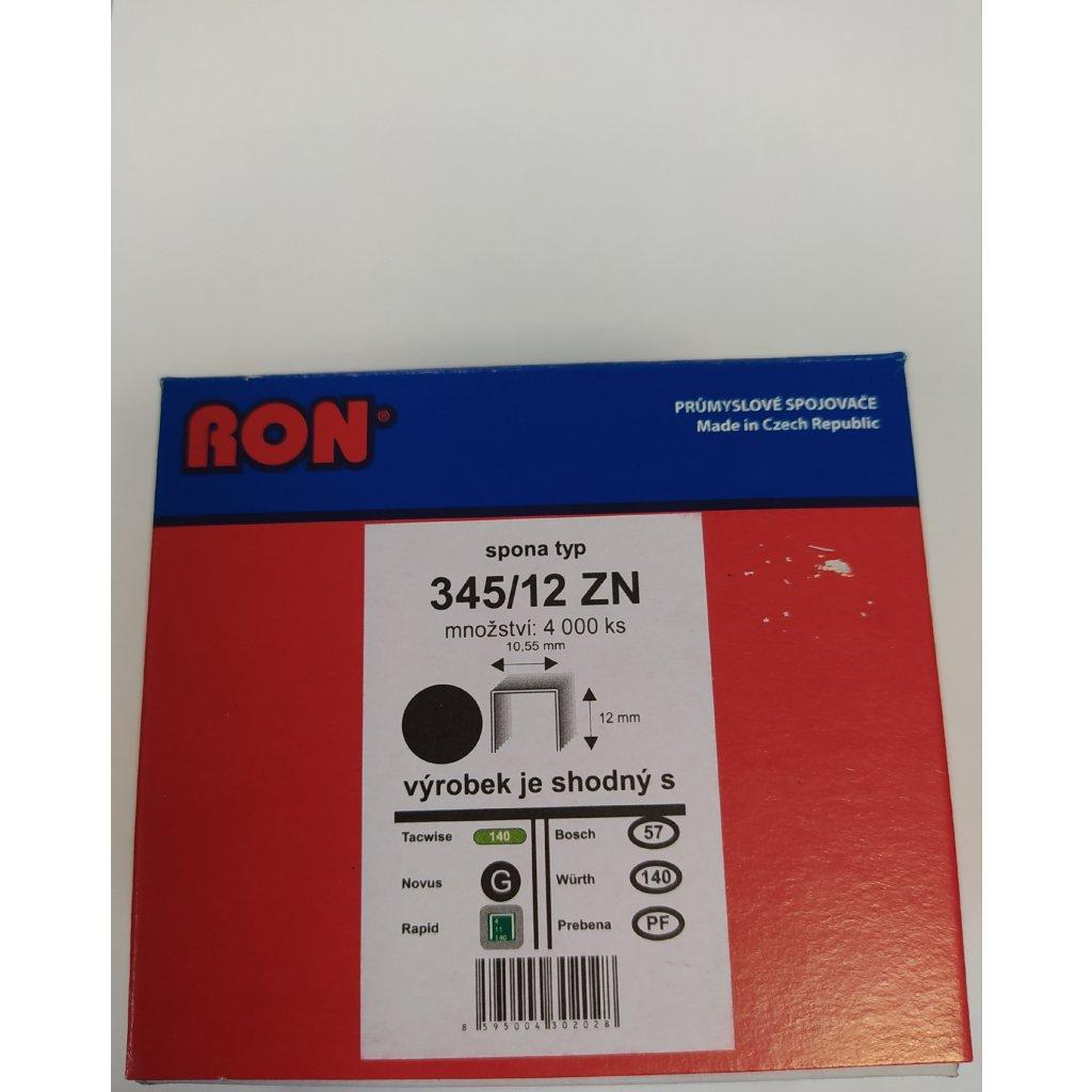RON sponky 345/12 ZN