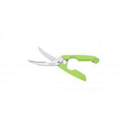 Nůžky na drůbež PRESTO 25cm, zelené