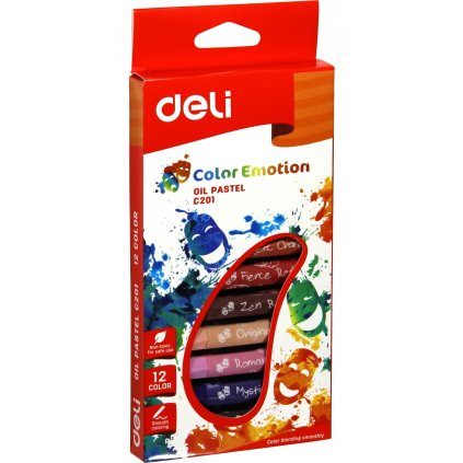 oil pastel deli color emotion 12 colors original 8221