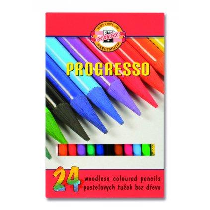 vyr 1757Sada pastelovych ceruziek PROGRESO 24 dielna