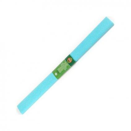 krepovy papir modry azurovy koh c 13