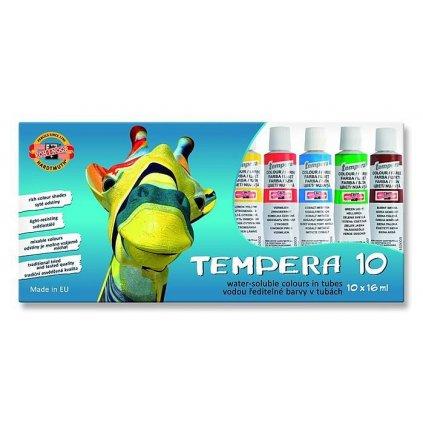 Temperové barvy 10 x 16 ml