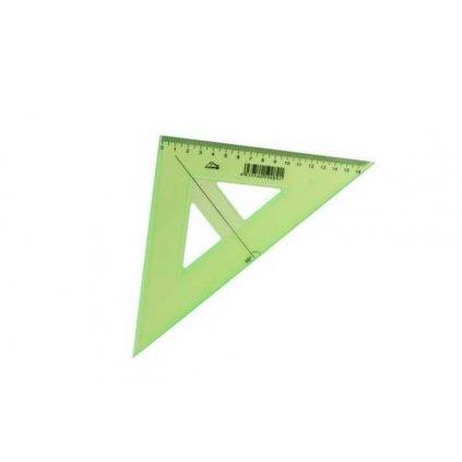 Trojúhelník s ryskou, zelený