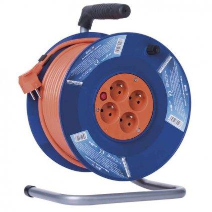 emos p19450 pvc prodluzovaci kabel na bubnu 4 zasuvky 50m 1908045001 04 8595025325167 7439