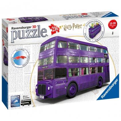 ravensburger harry potter knight bus puzzle pk