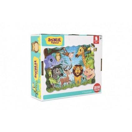 puzzle safari zoo 640x90cm 208ks v krabici 28x24x9.jpg.big