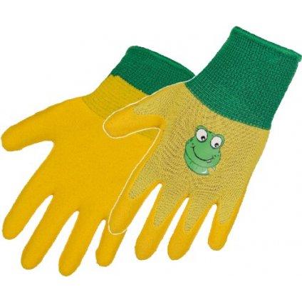rukavice žluté