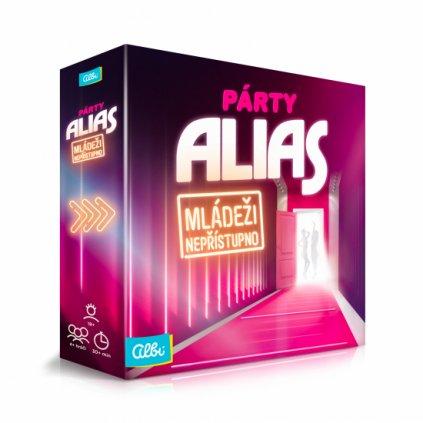 Párty Alias, mládeži nepřístupno