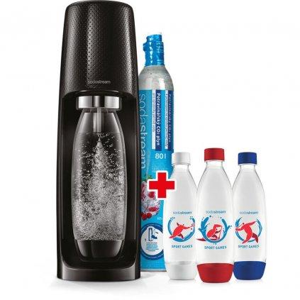 sada spirit black lahve 3x1l soda
