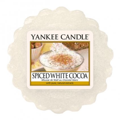 yankee candle vosk spiced white cocoa