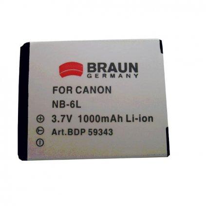 baterie canon nb 6l bdp cnb6l d86 10250 0