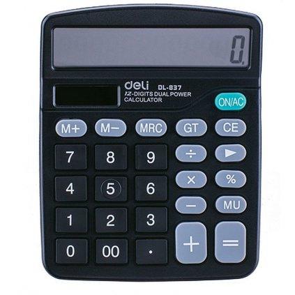 Kalkulačka Deli E837 12-ti místný displej
