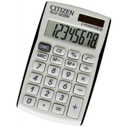 Kalkulačka Citizen SLD322BK
