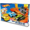 kidz tech official licensed hot wheels circuit box of 53 base circuits length 380 cm with 2 cars