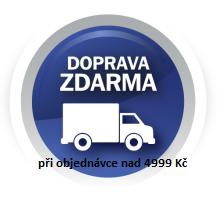 Doprava PPL zdarma při objednávce nad 4999 Kč