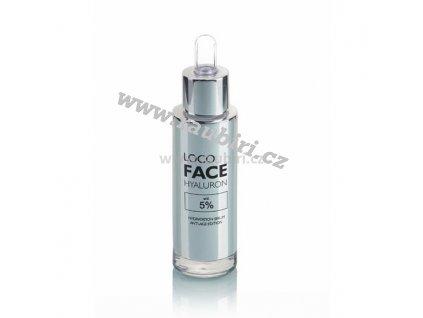 LOCO FACE HYALURON 5 % (hydratační sérum) 30 ml