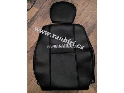 Potahy Renault MASTER sedačky 1+1