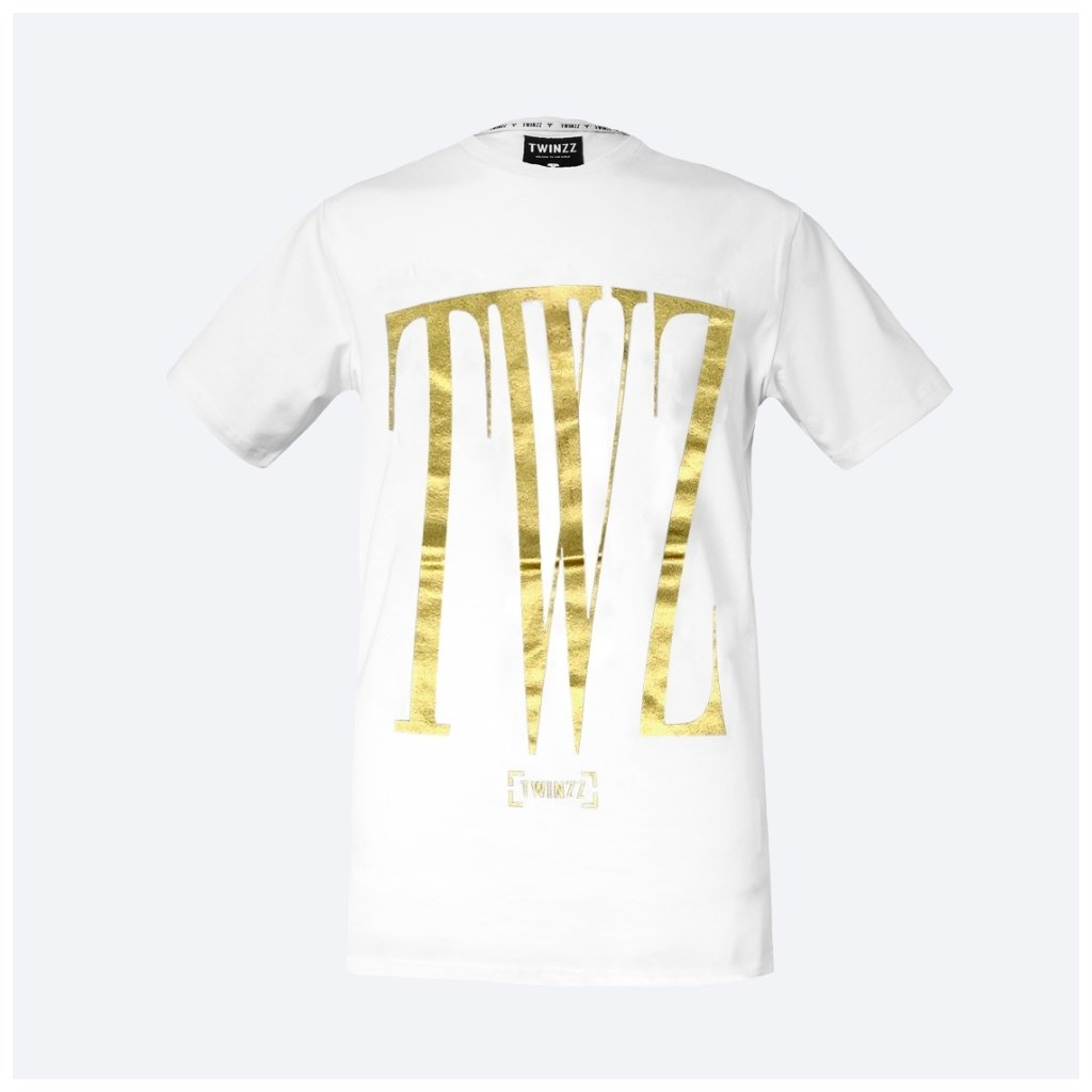 ROSSI SS TEE white Gold