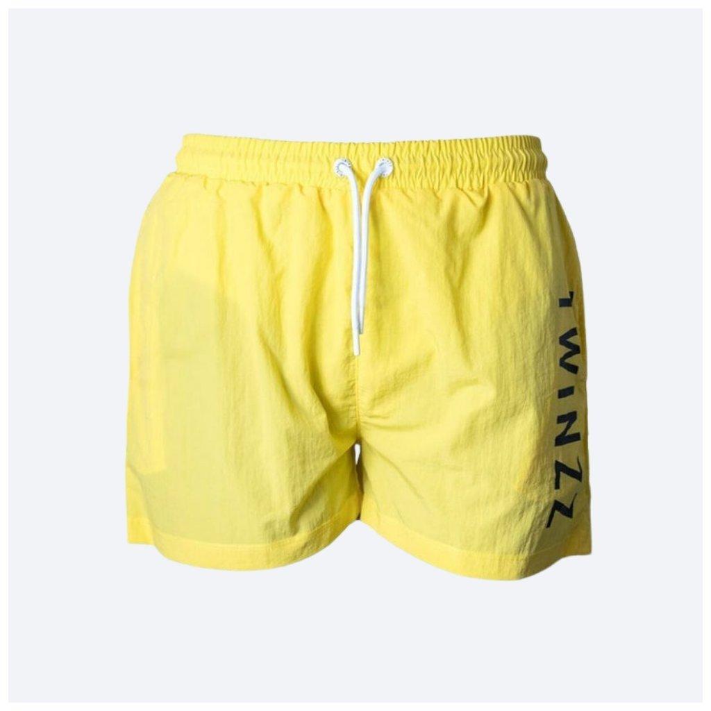 TWINZZ MARIO SWIM SHORT yellow