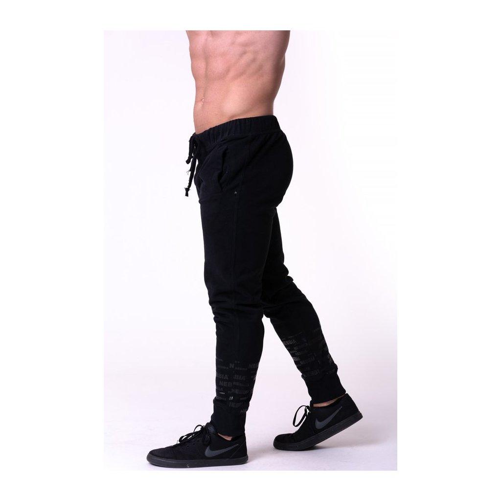 NEBBIA - Gym Hero Joggers Black