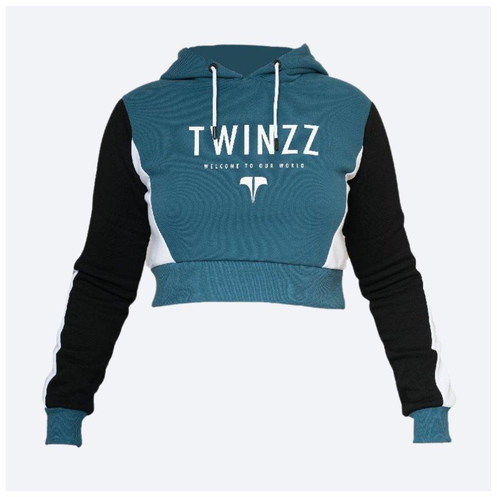Dámská mikina TWINZZ LOUNGE ACTIVE navy Black White
