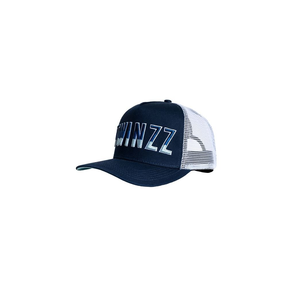 Twinzz Gradient Trucker Navy White Baby Blue