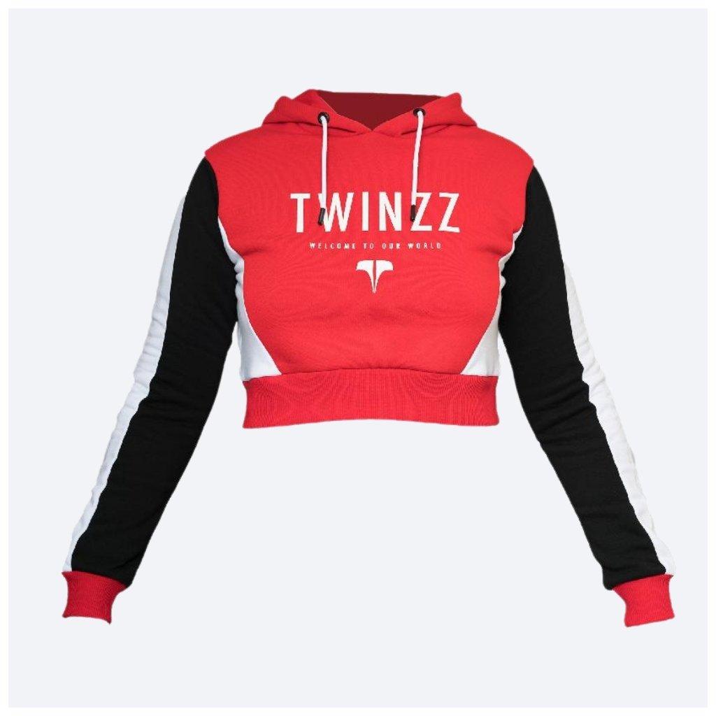Dámská mikina TWINZZ LOUNGE ACTIVE Red Black White