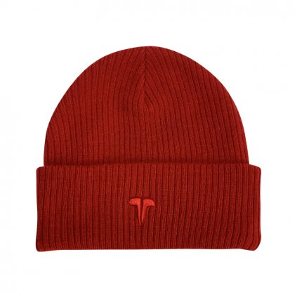 PREMIUM RIBBED BEANIE Red Red