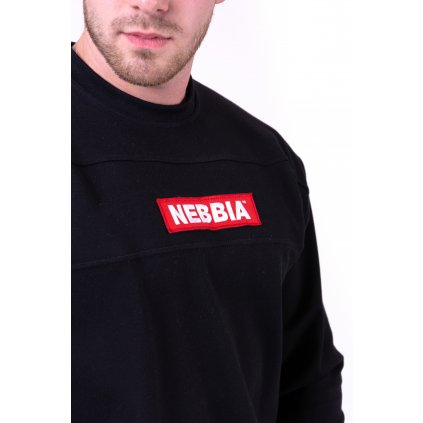 NEBBIA - RED LABEL Mikina - Black