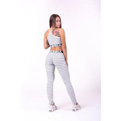 NEBBIA - BOHO STYLE 3D PATTERN TOP - Grey