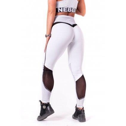 NEBBIA - V - BUTT Leginy - White