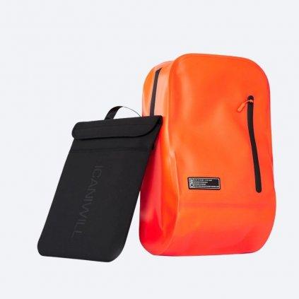 Oranžový batoh ICIW Welded