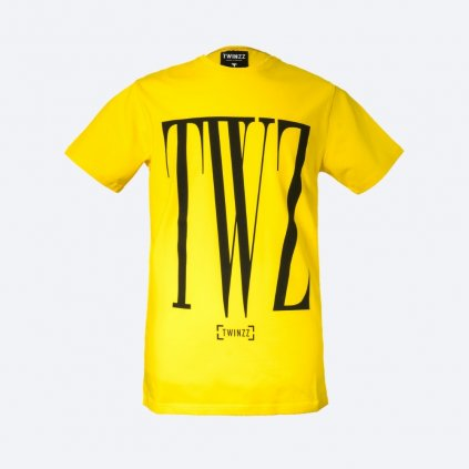 TWINZZ ROSSI TEE Yellow