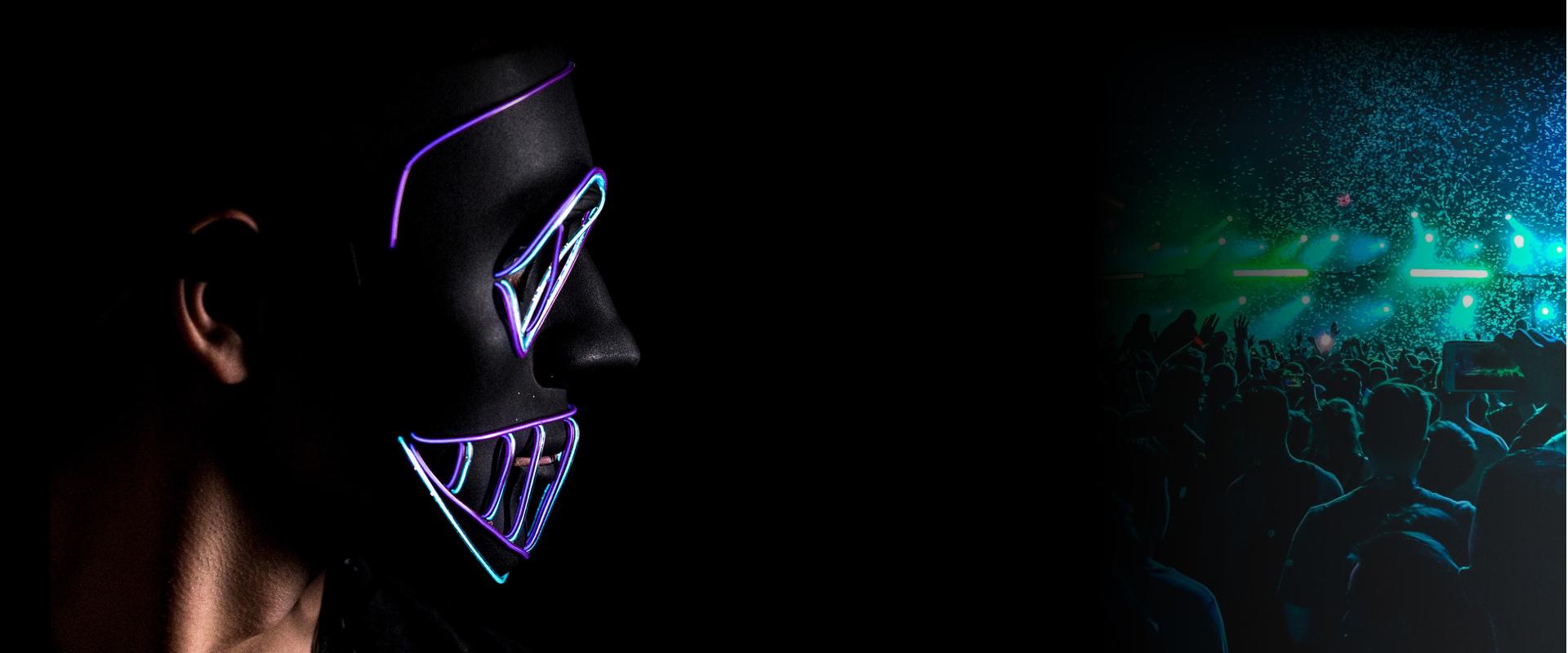 Rave masky