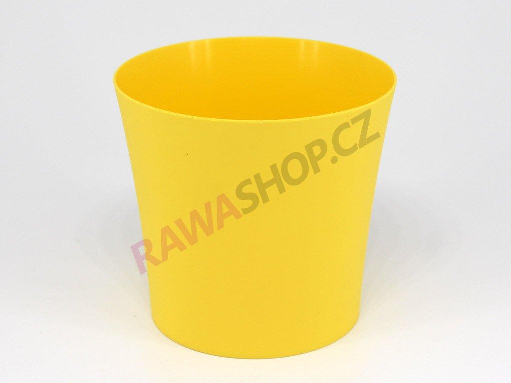Plastový obal Fiolek - žlutá