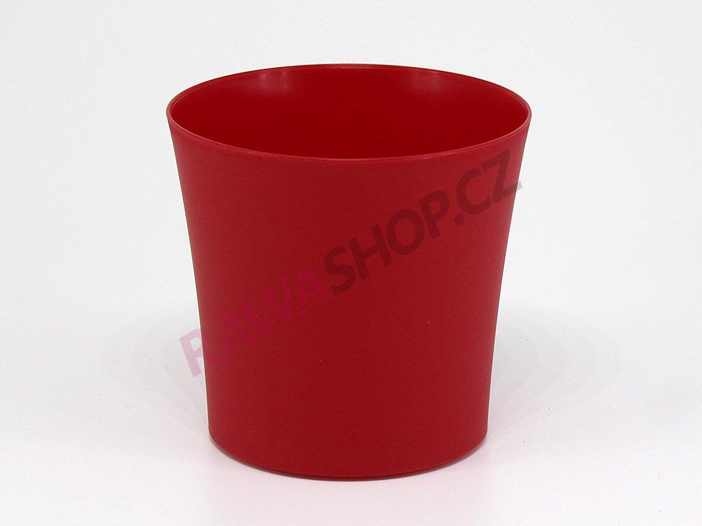 Plastový obal Fiolek - červená
