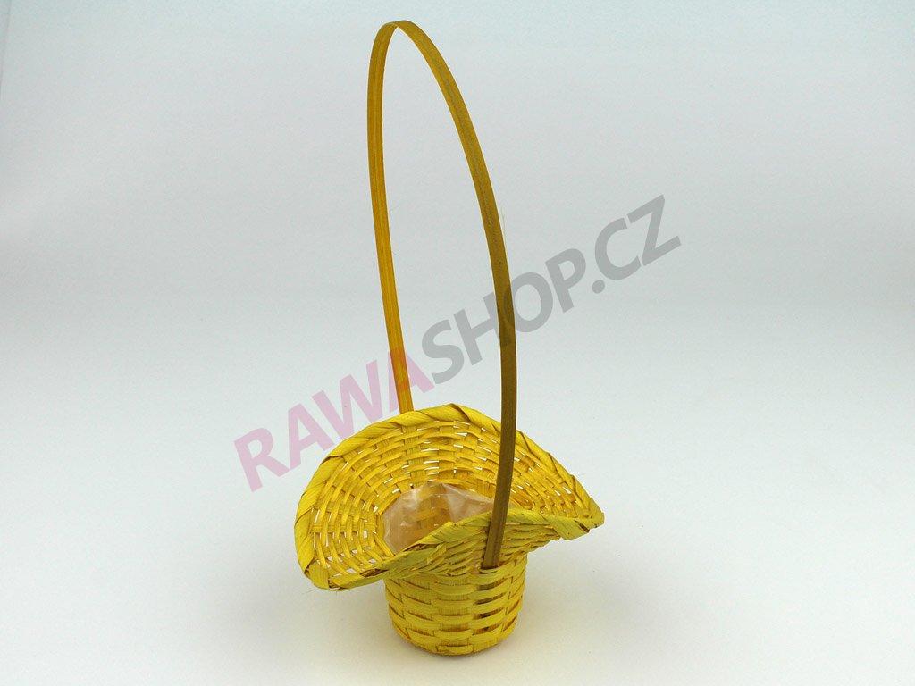Košík ∅ 6cm - žlutá