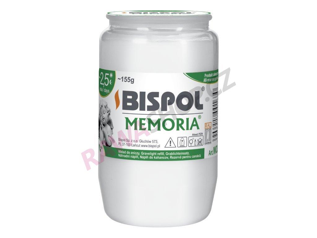 57. 1 Olejová náplň Memoria 2,5 24ks bílá BWO3