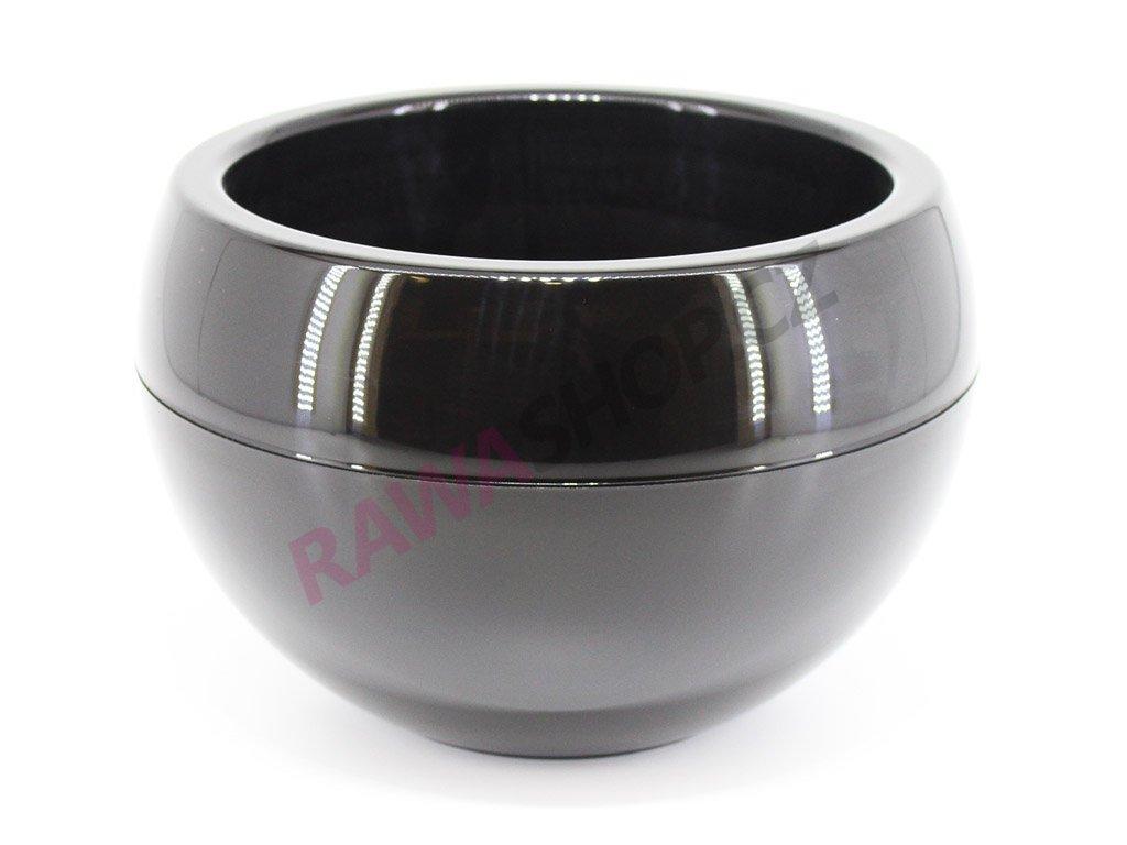 Plastový obal koule - černá