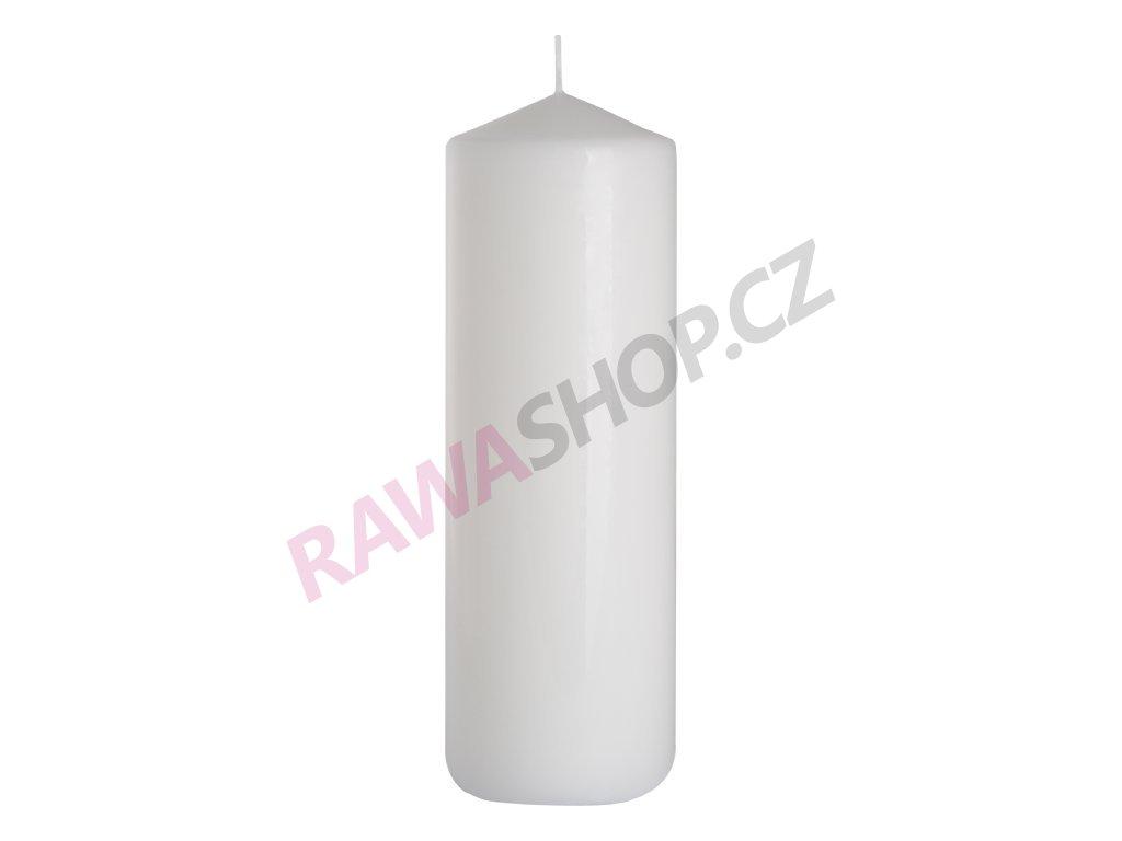 36. Svíčka válec 80 250 bílá BSW80250 090