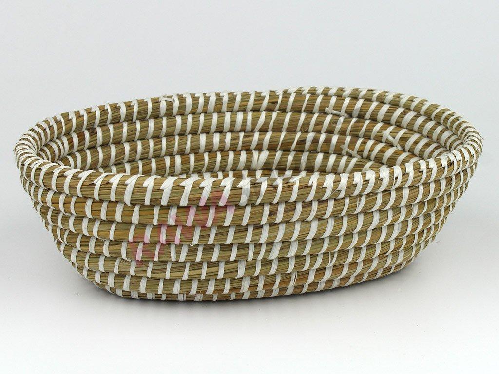 Trávová miska ovál