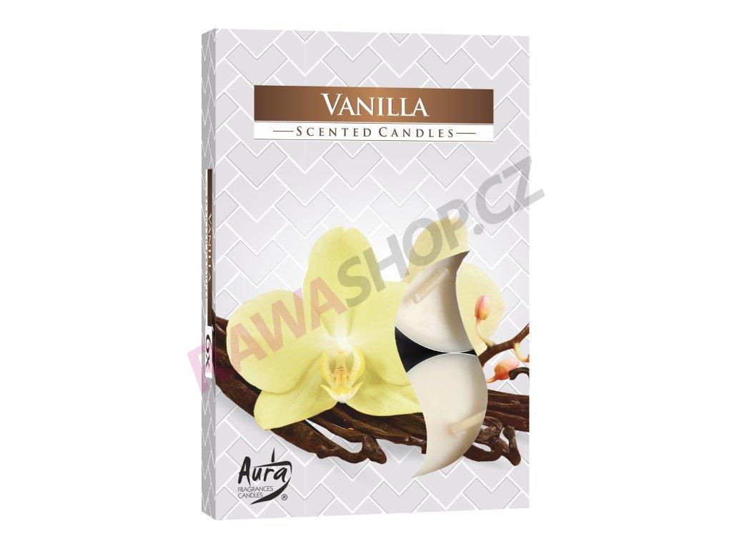 23. Čajové svíčky 6 ks Vanilla