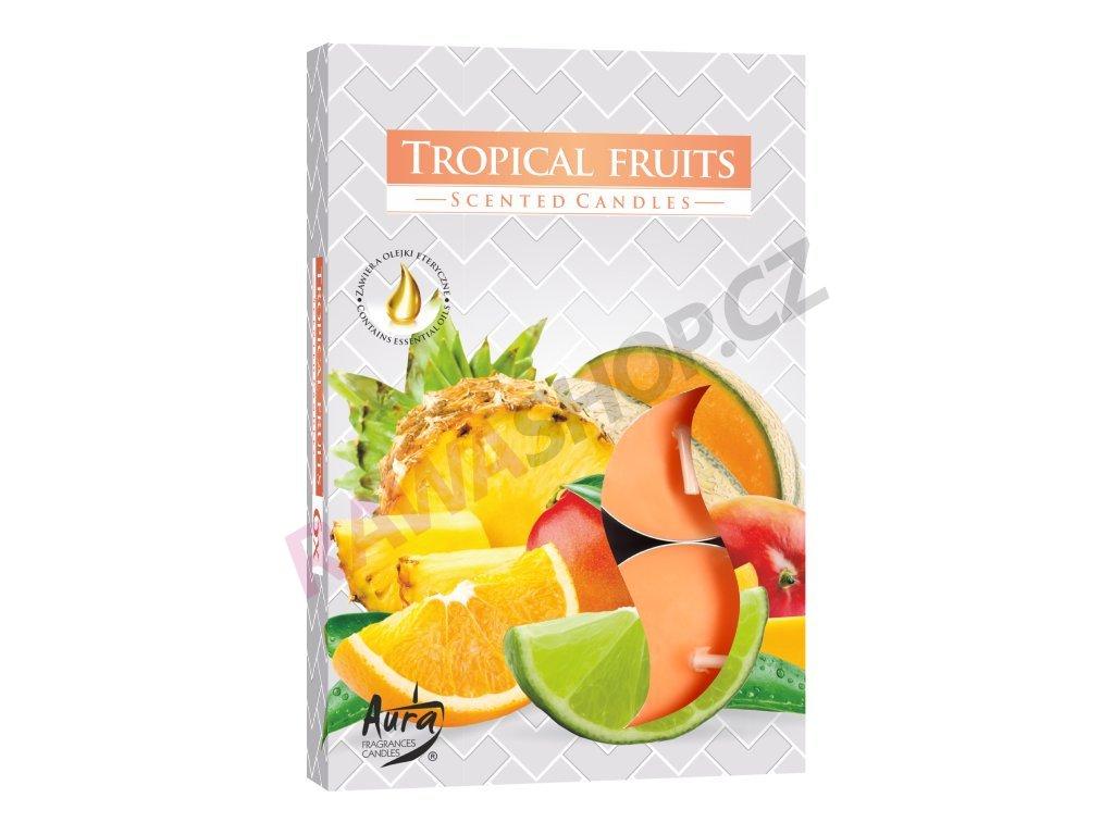 21. Čajové svíčky 6 ks Tropical fruits