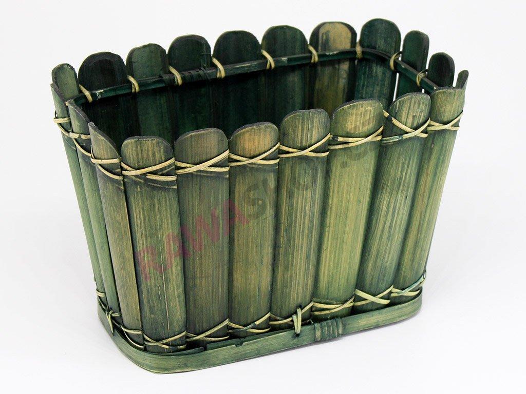 Bambusový obal - zelený